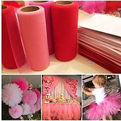 Organza Ceremony Decoratie-1piece / Set Bridal Shower Baby Shower Afstuderen Verjaardag Valentijnsdag Bruiloft