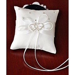 Ring Pillow Satin Asian Theme/Classic Theme/Butterfly Theme With Ribbons/Bow/Rhinestones