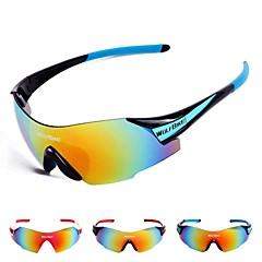 Ciclismo/Acampar e Caminhar/Motocicleta/Máscara Protetora Homens/Mulheres/Unissex 's Polarized/Anti-Vento Enrole Óculos Esportivos