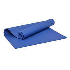 Mats Yoga - 8.0 - di PVC - Blu / Verde / Viola / Viola scuro