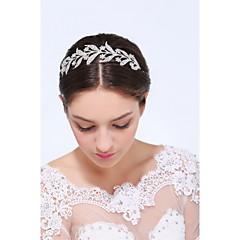 נשים כסף סטרלינג סגסוגת כיסוי ראש-חתונה אירוע מיוחד קז'ואל סרטי ראש חלק 1