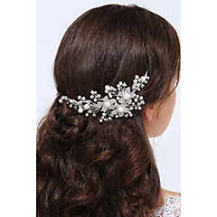 Women's Sterling Silver Alloy Headpiece-Wedding Special Occasion Casual Headbands 1 Piece