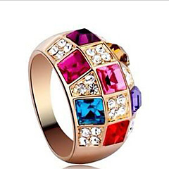 Lucky Doll Women's Colorful Ring