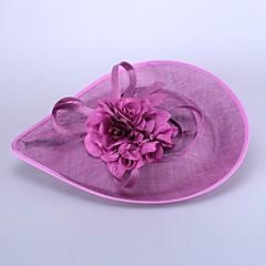 Mulheres Linho Capacete-Casamento / Ocasião Especial Chapéus 1 Peça