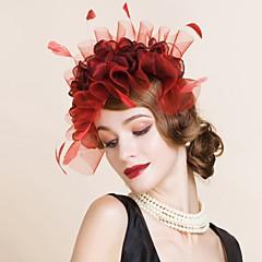 Dame Polyester Headpiece-Bryllup / Spesiell Leilighet Pannebånd 1 Deler