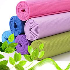 Mats Yoga - 6 - di PVC - Rosa / Blu / Verde / Viola / Viola scuro / Azzurro cielo / Blu chiaro