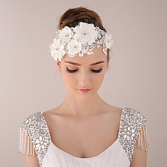 Bride Women's Lace Headwear / Headpiece Wedding Headdress / Special Occasion / Casual Flowers / Hair Accessories 1 Piec