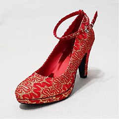 Women's Shoes Stiletto Heel Heels Pumps/Heels Wedding/Party & Evening/Casual Red