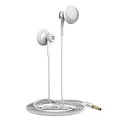 Langsdom T16 Super Bass Stereo Sound Microphone Volume Control Flat-ear Headphone