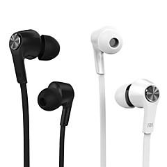 100% original Xiaomi stempel ungdom hifi hovedtelefoner 3,5 mm stereo øretelefon bas headset med mikrofon til iPhone 6 / 6plus