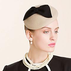 Femme Laine Casque-Mariage / Occasion spéciale / Décontracté Chapeau 1 Pièce Head circumference  57cm