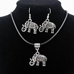 Herrn Damen Paar Modeschmuck Aleación Halsketten Ohrringe Für Alltag Normal Hochzeitsgeschenke