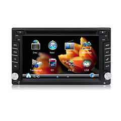 "2 Din In Dash Car DVD Player/6.2"" Touch Screen/GPS,Radio,Steering Wheel Control/For most cars,Volkswagen,Peugeot Citroen,Ford,Toyota,GM"