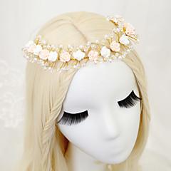 Women's / Flower Girl's Crystal / Alloy / Imitation Pearl Headpiece-Wedding / Special Occasion Headbands 1 Piece