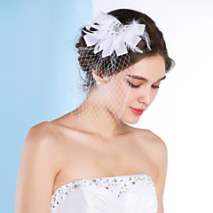 Women's Tulle Headpiece-Wedding Special Occasion Fascinators