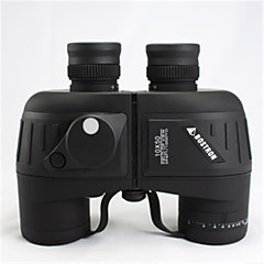 10x50 Floating US Army Binoculars with Rangefinder and Compass Reticle Black/Green