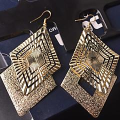 Mulheres Brincos Compridos Bijuterias Destaque Personalizado Vintage bijuterias Liga Forma Geométrica Jóias Para Casamento Festa Ocasião