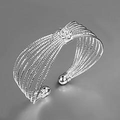 Damen Armreife Einzigartiges Design Modisch Sterling Silber Schmuck Gold Silber Schmuck Für Hochzeit Party Alltag Normal 1 Stück