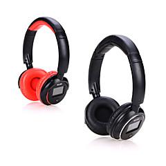 sem fio Bluetooth estéreo fones de ouvido fone de ouvido fone de ouvido com indicador de tela para iphone Samsung apoio tf mp3 fm