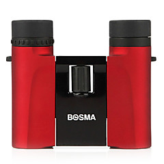 Bosma Yingcai 10x25 Binoculars HD High-Powered Night Vision Binoculars Pocket Portable Ms. Shine Red