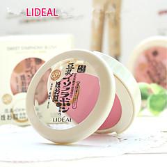 1 Blush Secos Gloss com Purpurina Brilhante / Longa Duração / Natural Rosto Vermelho / Rosa / Laranja / Pêssego