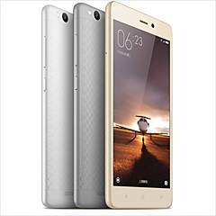 "XIAOMI Redmi 3 5.0 "" 5.1 Android טלפון חכם 4G (SIM כפול Octa Core 13 MP / 21 MP 2GB + 16 GB כסף / מוזהב)"