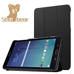 Samsung Galaxy Tab 8,0 e t377v luxus ultravékony műbőr állvány és tok, műbőr védő héj burkolat