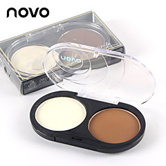1 Highlighters/Bronzers Dry Pressed powder Natural Face Multi-color