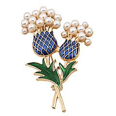 Femme Broche bijoux de fantaisie Mode Bijoux de Luxe Perle Bijoux Pour Mariage Soirée Occasion spéciale Anniversaire Quotidien