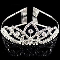 Femme Strass / Cristal / Alliage Casque-Mariage / Occasion spéciale Tiare 1 Pièce Rond