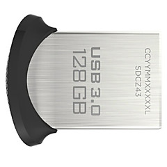 sandisk ultra fit 128 GB USB 3.0 flash-enheten (sdcz43-128g-gam46)