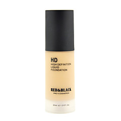 Red&Black HD Liquid Foundation Waterproof Long-lasting High Definition 30ml