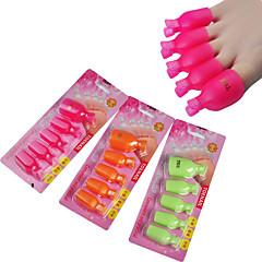 5pcs handig en praktisch losweken teennagel clip (willekeurige kleur)