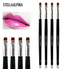 1 Lippenkwast Nylonkwast Professioneel Hout Lip Stellaalpina
