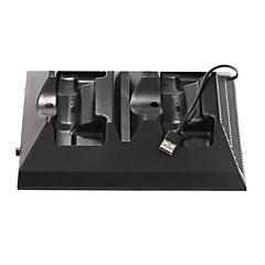 4 en 1 station de charge avec un ventilateur de refroidissement pour x-box une