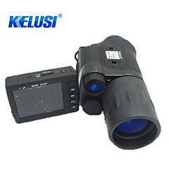 Kelusi 5X 42mm Monocular BAK4 Night Vision/Military 6.5° 70cm Central Focusing Fully Multi-coated Hunting/Infrared