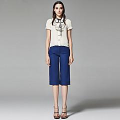 ZigZag® Női Állógallér 1/2 hossz Hüvely Shirt és blúz Arany - 11349