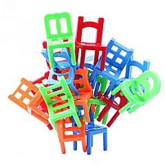 egymásra rakható székek egyensúly játék office puzzle játék oktatási többszínű (18db)
