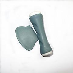 spiker art stempling bilde stempel skrape-verktøy med 1 stk mal plate overførings skrape-verktøy