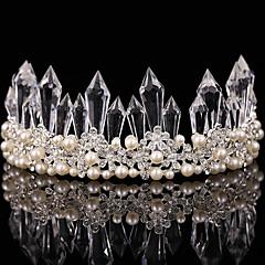 Dame Perle / Krystall / Legering Headpiece-Bryllup / Spesiell Leilighet Diademer 1 Deler Klar