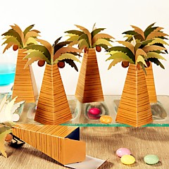 12 Piece/Set Favor Holder - Tropical Palm Candy Box Summer Beach Party Decoration Non-personalised