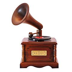 tre brun kreativ romantisk musikk boksen for gave