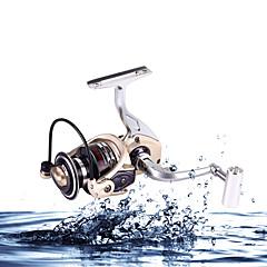 Molinetes Rotativos / Molinetes de Isco de Carpa 5.2:1 12 Rolamentos TrocávelPesca de Mar / Isco de Arremesso / Pesca no Gelo / Rotação /