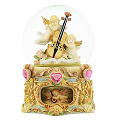 abs or créative boîte de musique romantique pour le cadeau