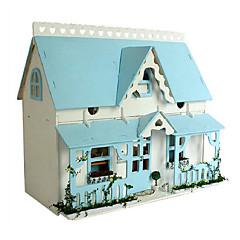 chi maison amusant bricolage maisons cabane scène romantique série lodge x-009 idées cadeaux faits à la main