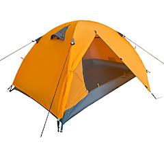 Yunyi Waterproof / Breathability / Dust Proof / Windproof / KEEP WARM PU Leather One Room Tent Blue / Orange
