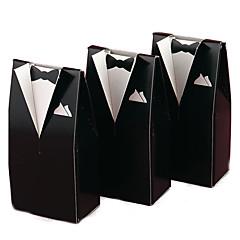 12 יחידה / סט מחזיק לטובת-יצירתי נייר כרטיסים קופסאות קישוט תיקי קישוט קופסאות מתנה שקיות לעוגיות ללא התאמה אישית