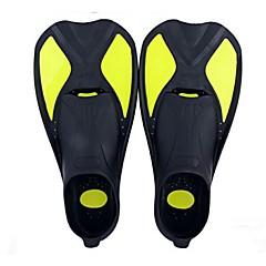 Fins de Mergulho Protecção Pala Curta Mergulho e Snorkeling Natação Silicone