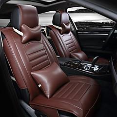 housse de siège 3d voiture de luxe siège unique universel de protection housses de siège avec l'ensemble d'oreillers