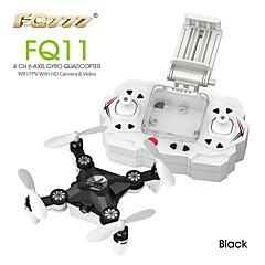 FQ777 FQ11 Wifi FPV With Foldable  3D Mini 2.4G 4CH 6 Axis Headless Mode RC Quadcopter RTF